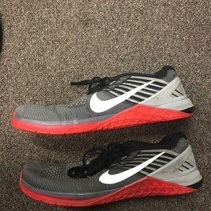 Nike DSX Flyknit - Men's 12 - Red/Black/Grey